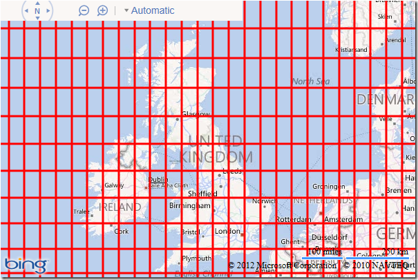 Drawing Lines Wpf : Drawing grid lines in bing maps ricky s