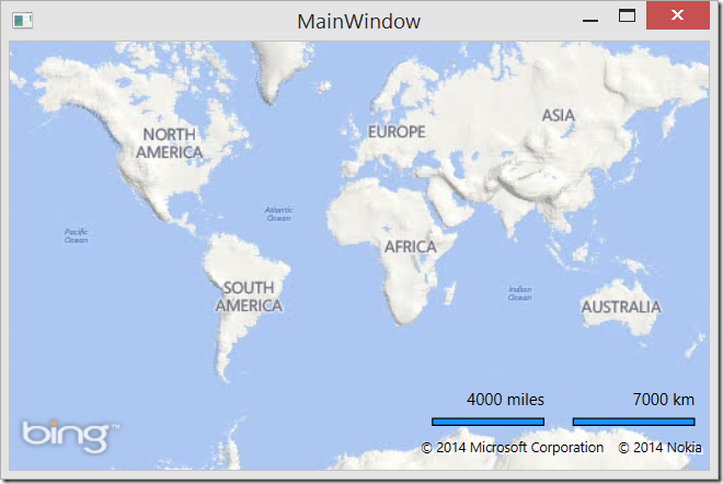 Multiple Measurement Scale Bar in WPF | Ricky's Microsoft Maps Blog