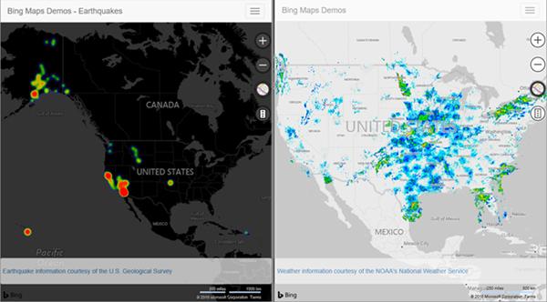 Bing Maps V8 August 2016 Update Rickys Microsoft Maps Blog